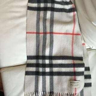 Burberry scarf cashmere