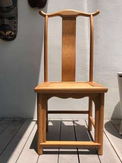 Chinese style dining chairs x6