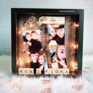 Personalised 3D Photo Frame (Simple is Love)