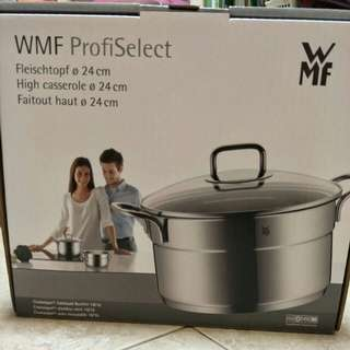 WMF ProfiSelect High Casserole 24cm