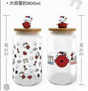 Kitty x LC 玻璃樽 (包順豐站自取)