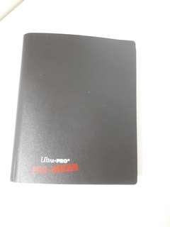 Ultrapro 4 slots per page binder card album tcg