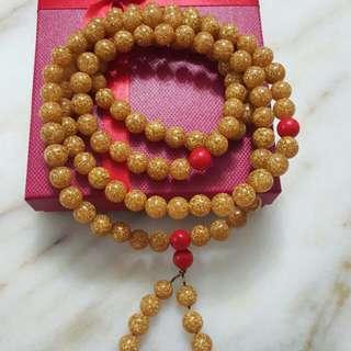 Pure 999 Gold Foil Prayer Beads