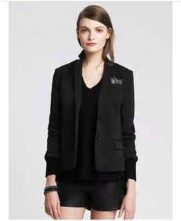 Banana Republic black blazer (brand new with price tag)