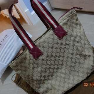 Gucci 經典款 大餃子袋 手袋 旅行袋
