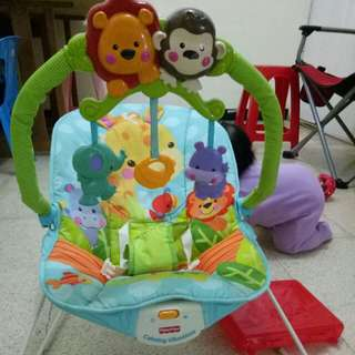 Fisher price bouncer #MakinTebel