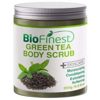 bnip biofinest green tea scrub