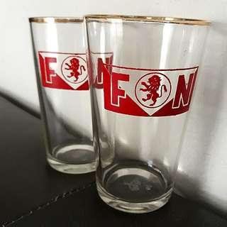 Vintage Fraser & Neave Drinking Glass