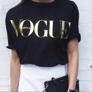 Plain tees vogue Gucci imitation