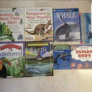 Non-fiction Educational Storybooks for Primary School Children