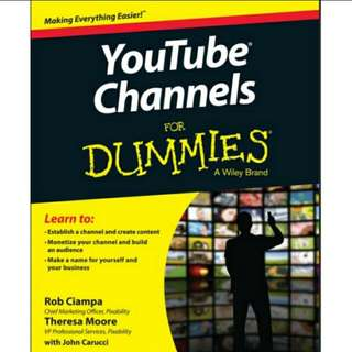 eBook YouTube Channels For Dummies