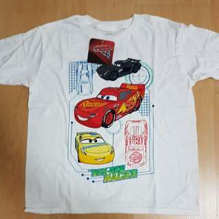 Disney cars 3 boy tee shirt
