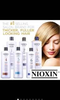 Nioxin Salon Professional Shampoo / Conditioner
