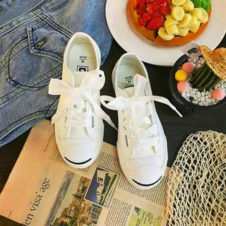 <3 COLOURS!> RIBBON CONVERSE INSPIRED SNEAKERS