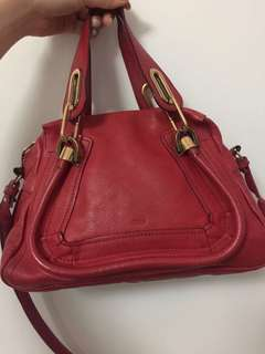 Chloe Paraty Mini in Red