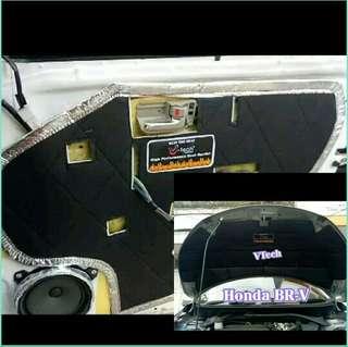 peredam panas dan pelindung suara kap mesin dan pintu mobil Honda BRV