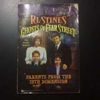 R.L. STINE GHOSTS OF FEAR STREET