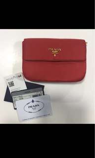 Authentic Prada Pouch