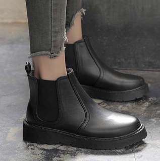 Chelsea Boots, BLACK LEATHER