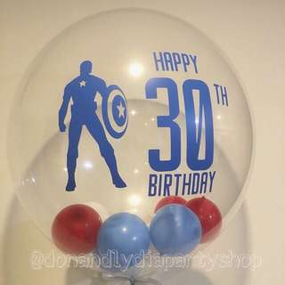 Customized bubble balloon