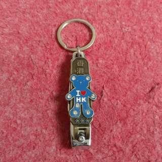 Gantungan Kunci + Gunting Kuku Hongkong