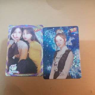 TWICE 閃卡yes card 一張八蚊