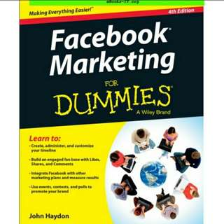 eBook Facebook Marketing For Dummies