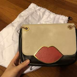 Lulu guinness lip bag authentic