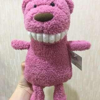 正版 柯邦尼 微笑大牙公仔 療癒 玩偶 娃娃 生日 交換 禮物