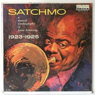 Louis Armstrong ‎– A Musical Autobiography Of Louis Armstrong 1923-1925 (1959 US Original - Vinyl Is Mint)
