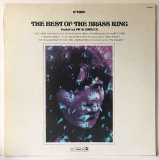 The Brass Ring Featuring Phil Bodner ‎– The Best Of The Brass Ring (1969 US Original - Vinyl is Mint)
