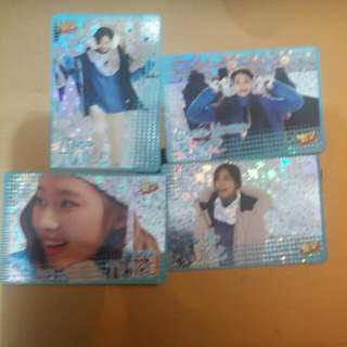 30期TWICE 閃卡 子瑜 彩瑛 Mina Sanayes card 每張八蚊