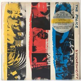 The Police – Synchronicity (1983 Europe Original - Vinyl is Excellent)