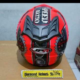 Helmer JPR Speed ratio red