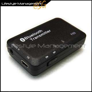 Audio Bluetooth Stereo Transmitter TV/Hi-fi Computer/Desktop/Notebook for Wireless Headset/Headphone