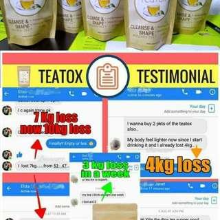 TeaTox detox slimming