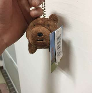 熊熊遇見你 棕熊吊飾