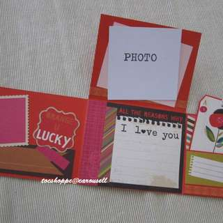 Love Flap Tag Card
