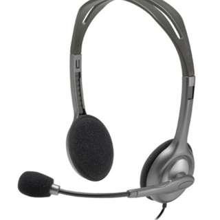 Logitech H111 (Stereo Headset)