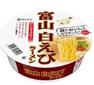 日本富山白蝦海鮮味杯麵