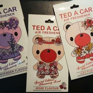 Ted A Car Air Freshener