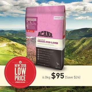 Acana Grass Fed Lamb 6kg