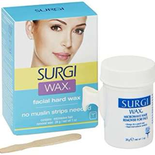 SurgiWax Hair Remover for Face with Maple Honey