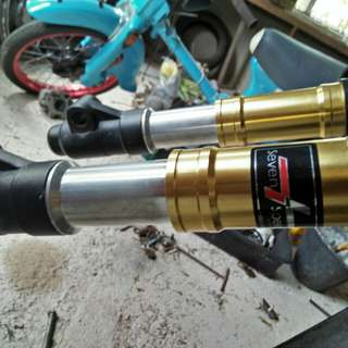 Fork aloi seven speed