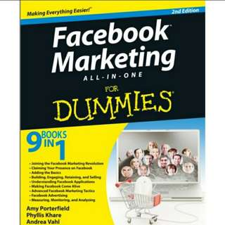 eBook Facebook Marketing For Dummies All-in-One 2nd Edition