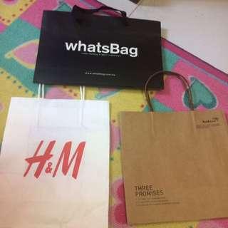 Paper bags branded