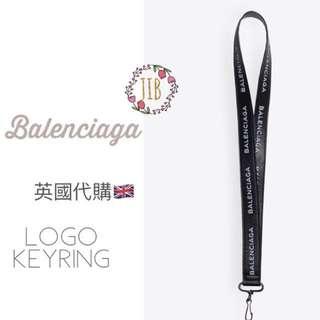 Balenciaga ❤️ LOGO KEYRING