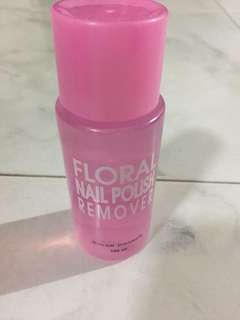 color combos floral nail polish remover