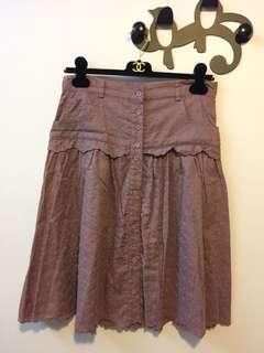 Kookai 紫色半截裙 Kookai Skirt