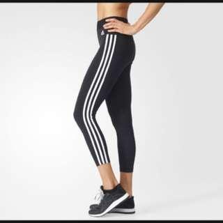 Adidas 3 Stripe Tights Sz. Small  BNWT